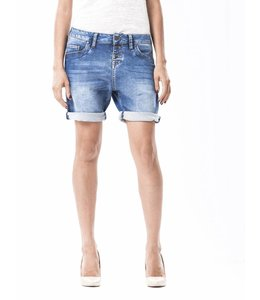 COJ Romy Dark Vintage Blue Denim Shorts