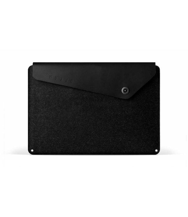 "MUJJO 15"" Macbook Sleeve Black"