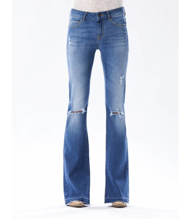 COJ Laura Bright Vintage Flared Jeans