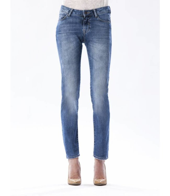 COJ Susan Medium Blue Straight Jeans
