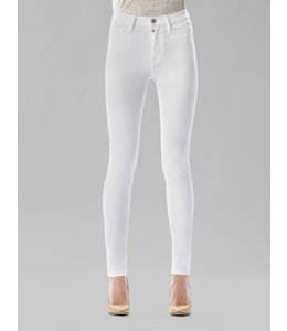 COJ Sophia White High Waisted Jeans