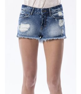 COJ Angie Medium Used Blue Ripped Shorts