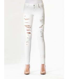 COJ Amy White Destroyed Jeans