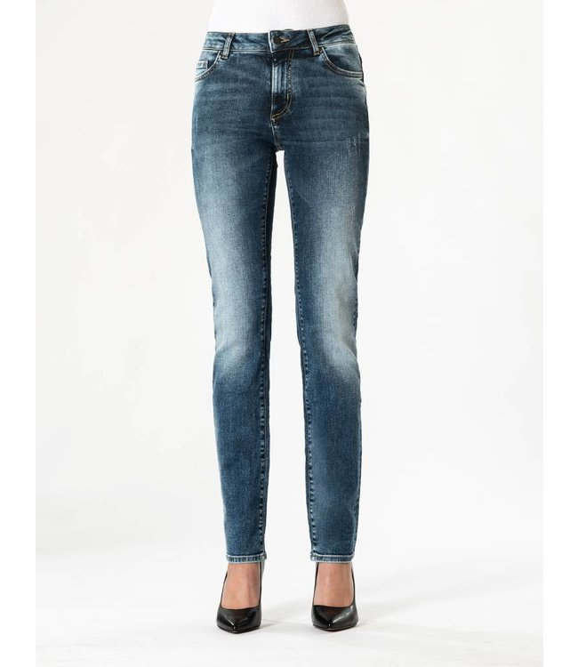 COJ Monica Medium Blue High Waisted Jeans