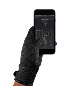 MUJJO Single-Layered Touchscreen Gloves Black