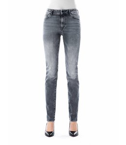 COJ Monica Silver Grey High Waisted Jeans