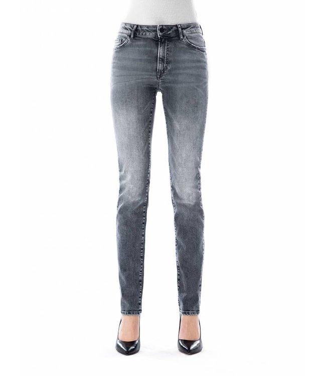 COJ Monica Silver Grey High Waisted Jeans