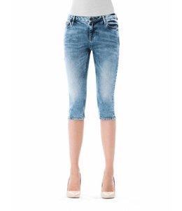 COJ Mia Medium Blue Capri Jeans