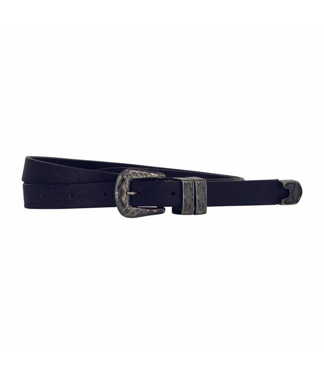 The Belt 20m Ladies Belt Indigo Blue