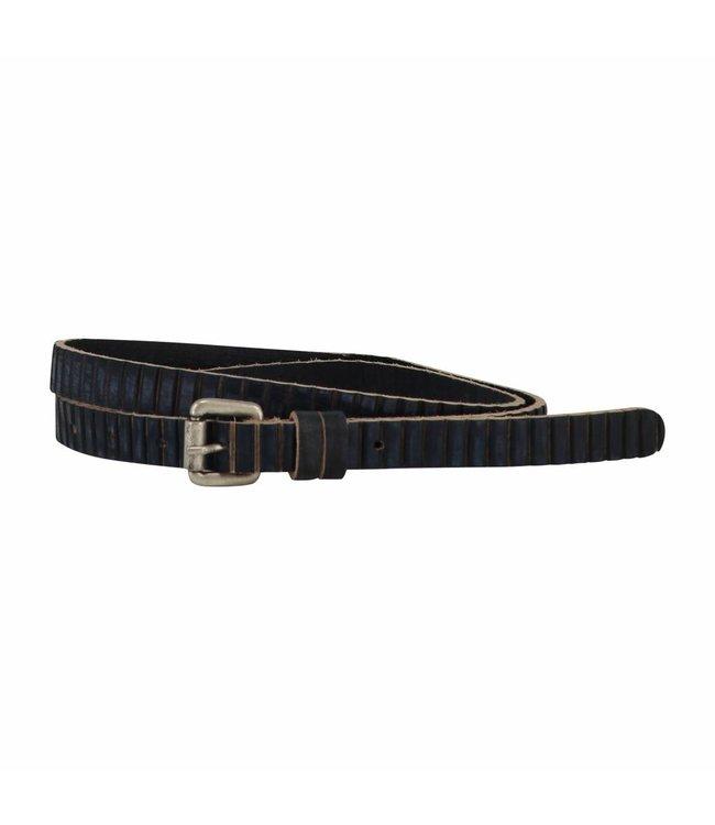 The Belt 15mm Ladies Belt Indigo Blue