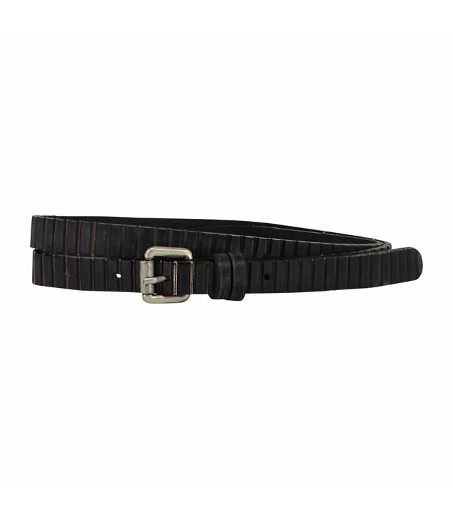 The Belt 15mm Ladies Belt Indigo Black