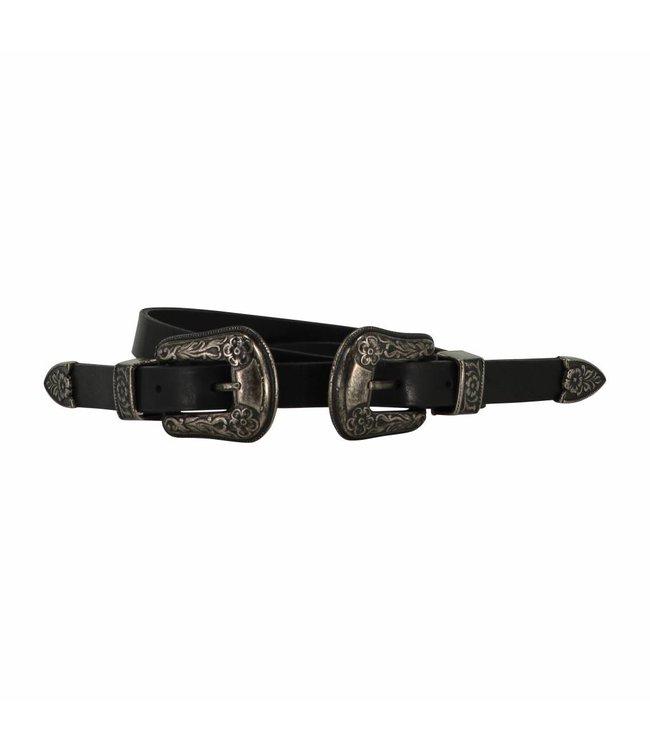 The Belt 20mm Ladies Belt Black