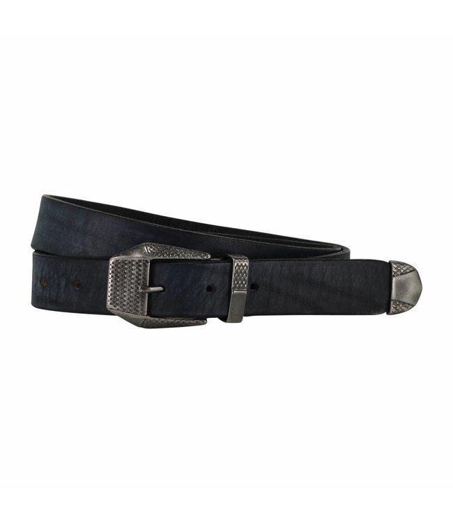 The Belt 30mm Men Belt Indigo Blue