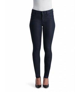 COJ Sylvia Navy Coated High Waisted Jeans