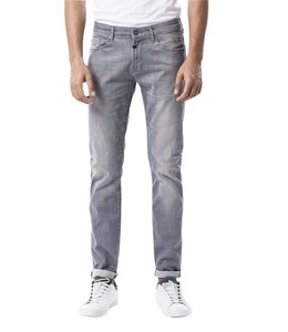 COJ Ray Grey Vintage Slim Straight Cut Jeans