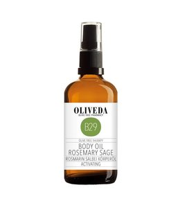 Oliveda B29 Body Oil Rosmary Sage Activating 100ml