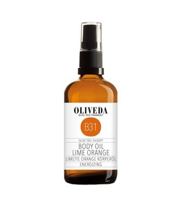 Oliveda B31 Body Oil Lime Orange Energizing 100ml