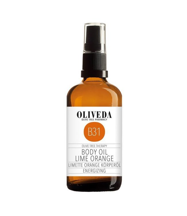 Oliveda B31 Body Oil Lime Orange Energizing 100ml