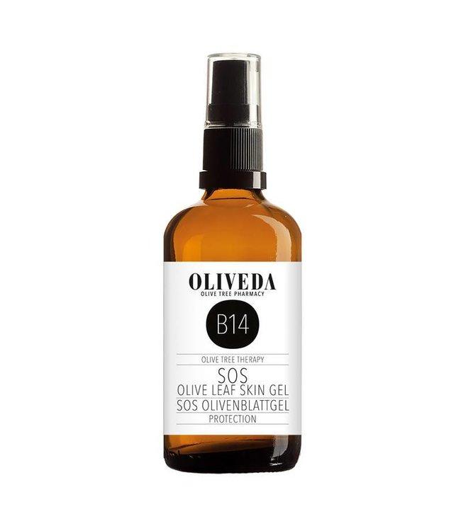 Oliveda B14 SOS Olive Leaf Skin Gel protection 100ml