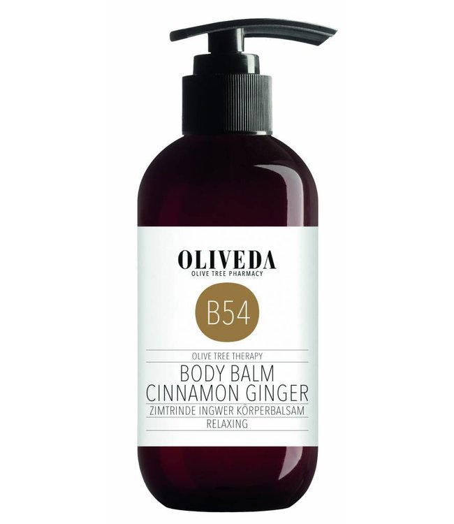 Oliveda B54 Body Balm Cinnamon Ginger Relaxing 250ml
