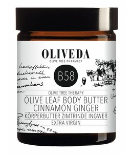 Oliveda B58 Bodybutter Cinnamon Ginger 180ml
