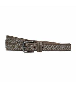 The Belt 25mm Ladies Belt Dark Grey
