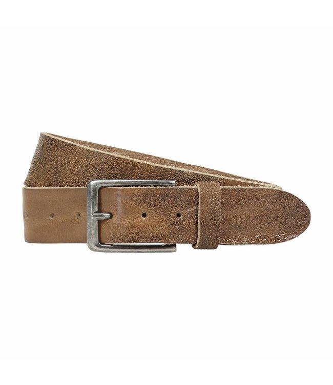 The Belt 40mm Men Belt Creme Brown