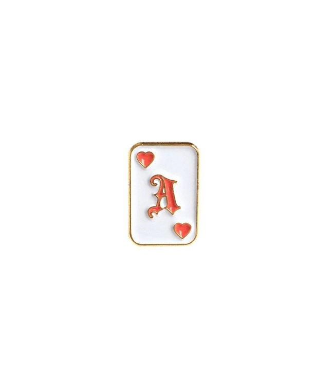 Iron & Stitch Ace Of Hearts