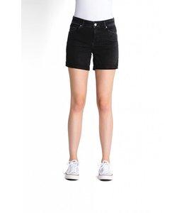 COJ Emma Black Denim Shorts