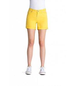 COJ Emma Lemon Denim Shorts