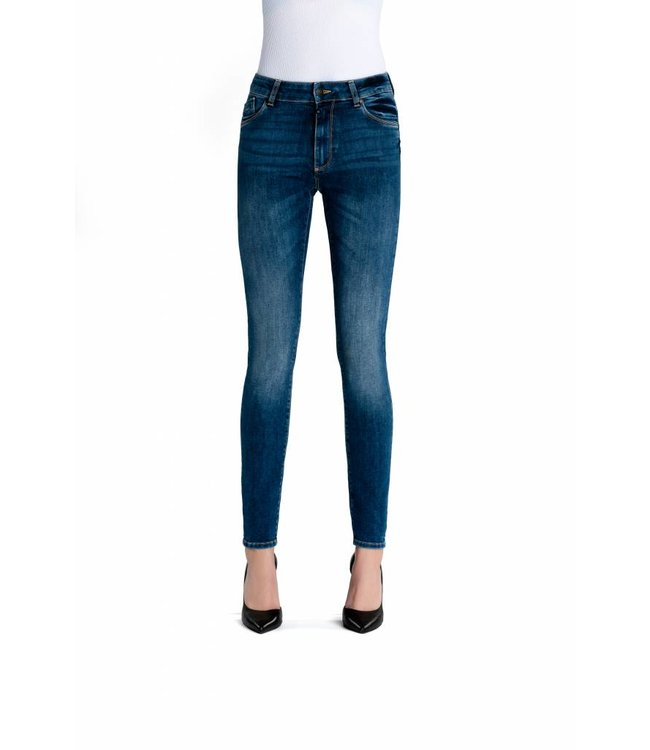 COJ Emily Medium Blue Skinny Jeans