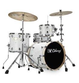 Odery Odery Fluence Jazz 18/10/14/SD Vintage White mit Hardwaresatz