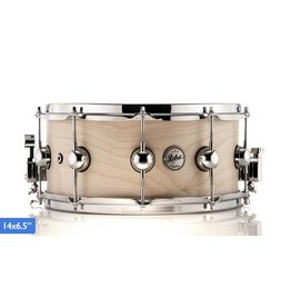 "DS Drums DS Rebel Snare Drum 14x6,5"" Natural Birch"