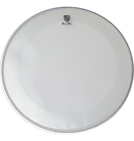 World Max Bass Drum Schlagfell mit Ringdämpfer, klar, 18-24""
