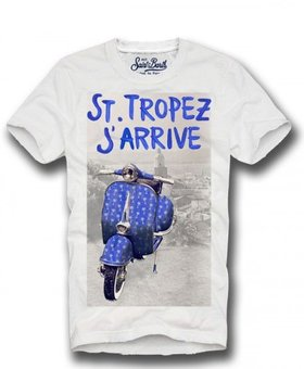 MC2 Saint Barth J'Arrive - T-Shirt Man
