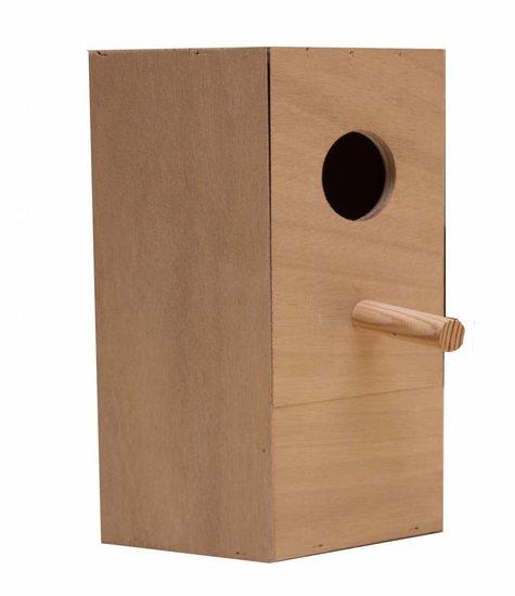 Nestkast voor de Bourkes Parkiet
