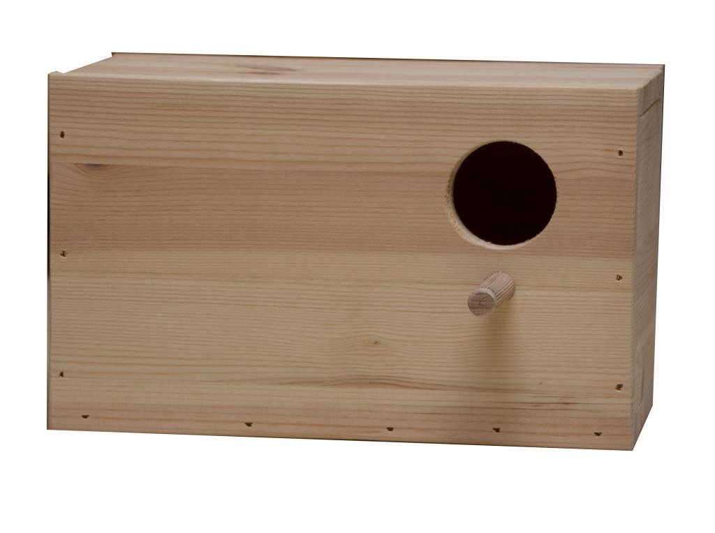 Nestkast voor de Forpus parkiet