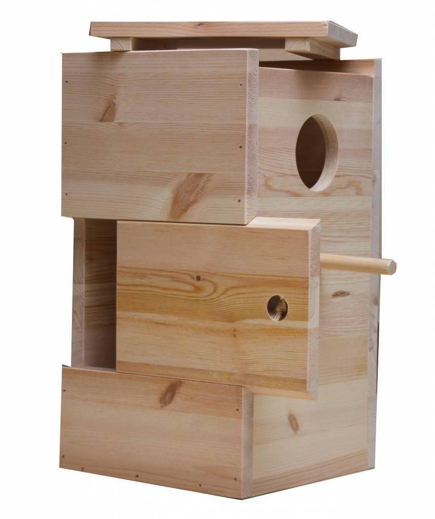 Nestkast voor de Ruppel papegaai