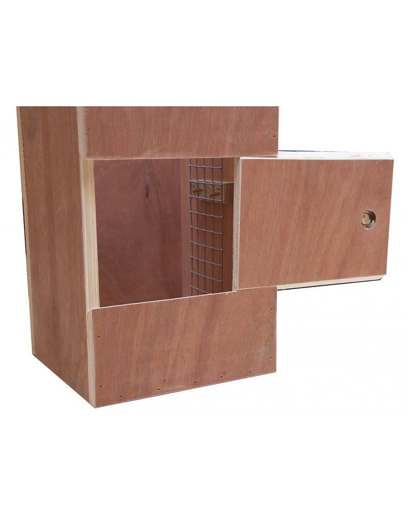Nestkast voor de Neumann parkiet
