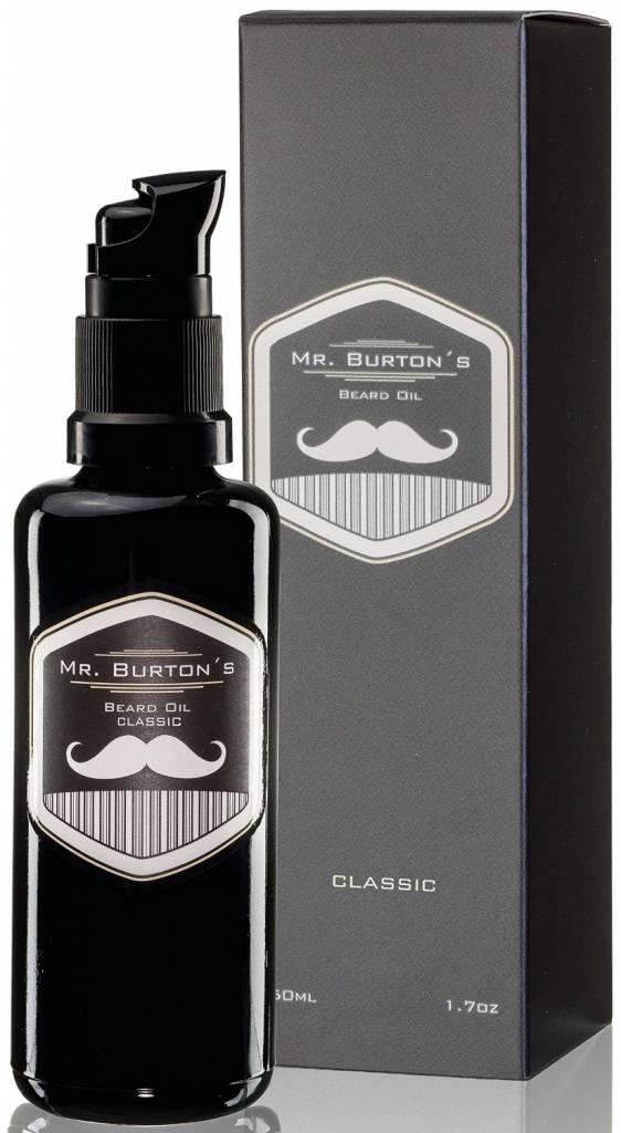 Mr. Burtons MR. BURTONS BARTÖL CLASSIC - 50ml - Bart Öl für die Bartpflege