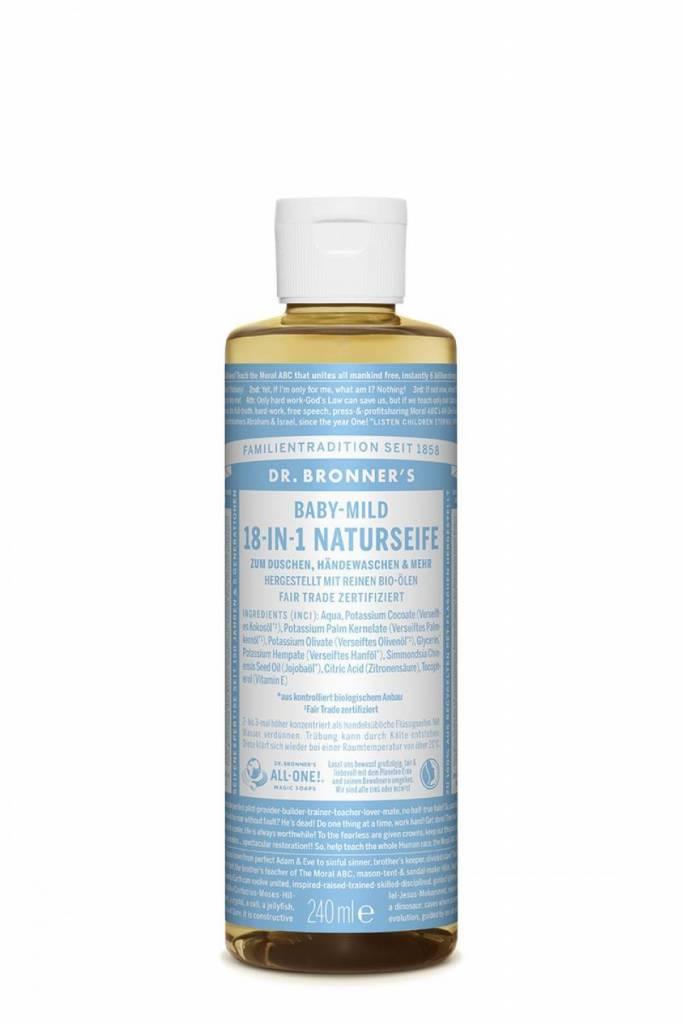 Dr. Bronner DR. BRONNER MAGIC SOAP FLÜSSIGSEIFE BABY-MILD - 240ml