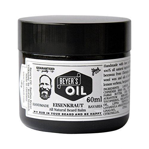 Beyer´s Oil BEYER'S OIL BEARD BALM EISENKRAUT - 60ml