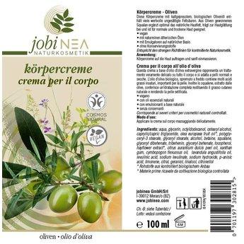 Körpercreme – Oliven / 100 ml
