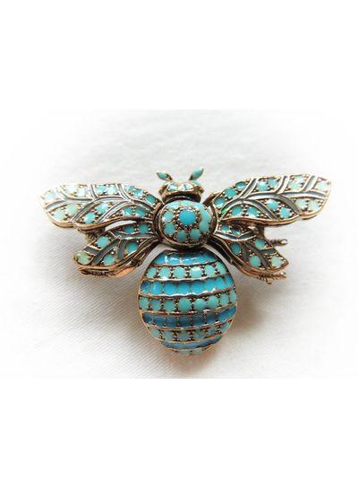 Adamarina Brooch Bee Mod. 03