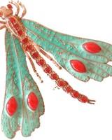 Adamarina Brooch Dragonfly Mod. 15
