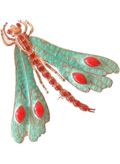 Adamarina Brosche Libelle Mod. 15