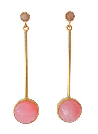 Adamarina Kali Pink Earrings