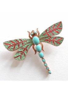 Adamarina Brosche Libelle #35