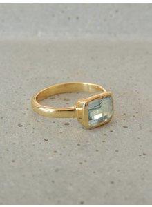 Adamarina Siren Aquamarin Ring