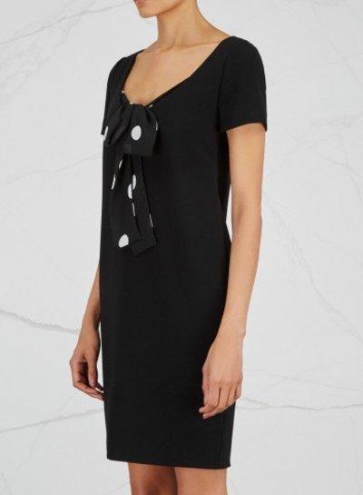 Boutique Moschino zwarte jurk Boutique Moschino